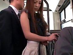 Super-naughty Chinese girl Minori Hatsune in Incredible Outdoor, Upskirts/Panchira JAV movie