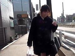 Japanske tenåringen squirting