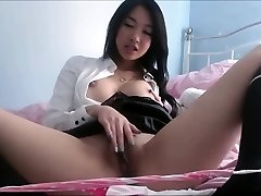 Asian with big boobs uncovered private