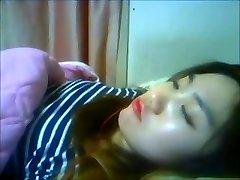 Korean Slut Yein Jeong jerks on webcam 6