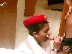arab emirate steward cabin dt before the flight