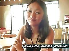 Tia Jugendlich Chinesischen Ziemlich Jung