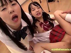 Abe Mikako Does Deep Asslicking Shares Licking Cum With Friend