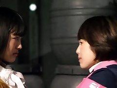 Mika Kikuchi and Mayu Kawamoto Lezzy Kiss