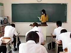 Maria Ozawa-torrid teacher having fuck-fest in school