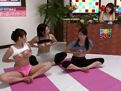Exotic Japanese slut Anri Sugisaki, Chika Arimura in Impressive Live demonstrates JAV vignette