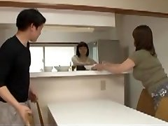 Japanese Mommy in law in Step Sons Moist Dream