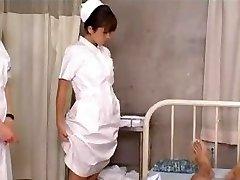 Japanese Schoolgirl Nurses Training and Practice