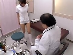 Asian broad with marvelous bumpers gets her bun finger-tickled in sex film