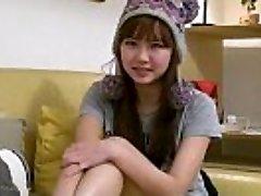 Sexy busty asian teen girlfriend fingers