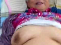 Very Cute Chinese Granny Getting Fuck
