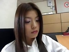 koreansk kontor jente