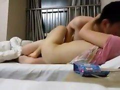 Chinese shenzhen girl cuckold and self timer