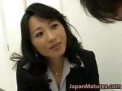 Natsumi Kitahara ass eats her boy part6