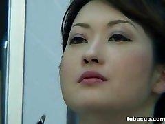 Cosplay Porn: Asians Nurses Cosplay Japanese Milf Nurse Fucked Therapists Office part 1