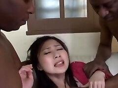 Best Asian chick Megumi Haruka in Hottest Big Tits, Big Pecker JAV video