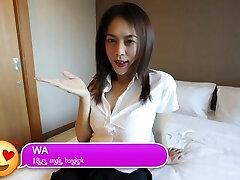 HELLOLADYBOY Asian School Transgirl Fucked In Her Mini Skirt