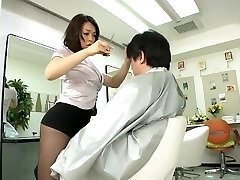 Avs-museum100438 Softcore Mini Micro-skirt Barber Reiko Nakamori Sc1 Uncensored
