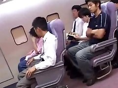 Asian cabin attendants service
