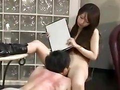 Asian dominatrix smack
