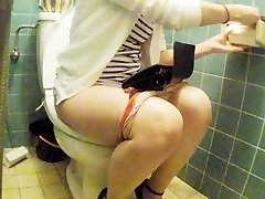 Chinese junior girl restroom pt Two