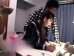Alluring Oriental babe has her boyfriend shagging her tight