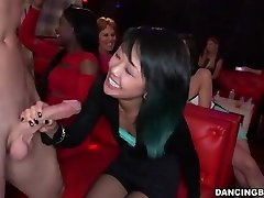 Young Asian Gal deepthroats Stripper