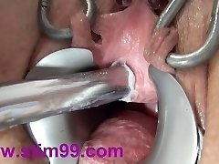 Extraordinary Peehole Fucking Insertion Dildo and Japanese sounds