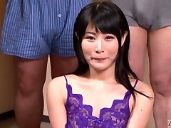 Subtitled Chinese gokkun gulping party with Chigusa Hara