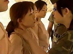 Asian Lesbians Smooching Red-hot !!