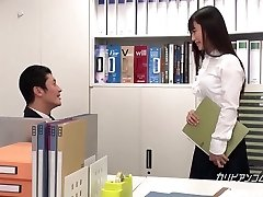 Japanese schoolgirl fucking instead of investigating