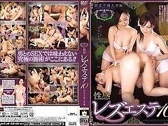 Incredible Japanese doll Kaori Otonashi, Ayako Kano, Kaori Saejima, Izumi Terasaki in Exotic strap-on, lesbian JAV clip