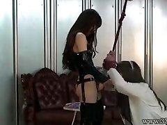 Chinese Femdom Emiru BDSM Strapon Penetrating