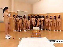 Nudista Japán futanari dickgirls, milf testnevelő tanár