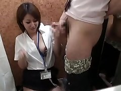 Japanese Dressing Room Demonstrate(censored) #5