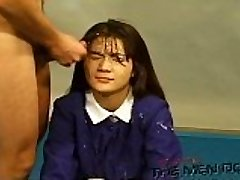 Mass Ejaculation Highschool Lesson 13 4/4 Japanese uncensored blowjob