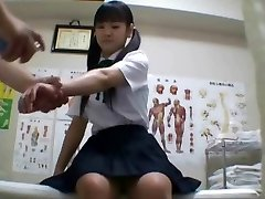 Chinese schoolgirl (18+) humped during medical exam