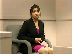 The trial of Mika Tan - Funny assfucking dildo