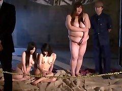 Nana Aida in Mega-slut Slave Auction part 1.Two