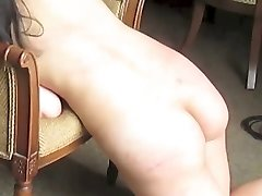 Flogging & Whipping an Amateur Asian M