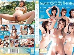 Rin、鈴鹿、小澤マリア---性別のビーチに面Compiation