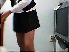 Korean Unexperienced School Uniform Taunt Masturbation