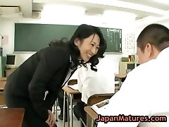 Natsumi kitahara asslicking some boy part3