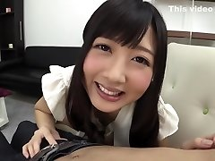 Hottest Japanese whore Hibiki Otsuki in Awesome handjobs, analingus JAV clip