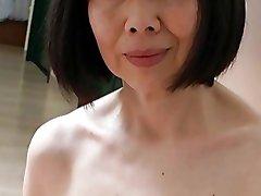 Japonski Mature s Fantastično Bradavičke
