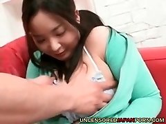 Uncensored Asian Porn Chubby wife from Japan first timer