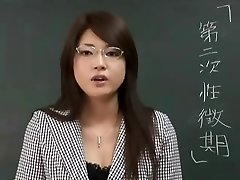 Erika Sato - Woman Professor Nakadashi Rectal Attack