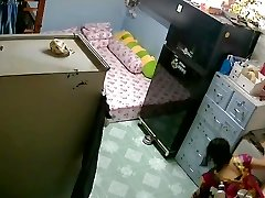 Unsecured Security Camera- Mother & Stepdaughter after Tub