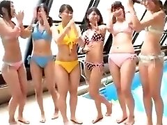 Japanese - teens pool party