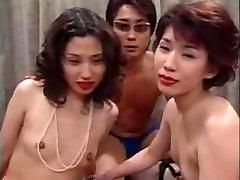 Japanese MILF Orgy
